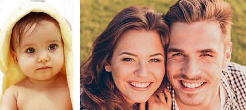 Fotomozaiek hoofdfoto voorbeelden