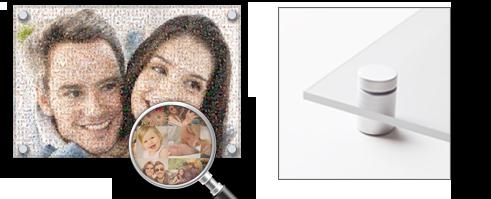 Fotomozaiek Plexiglas
